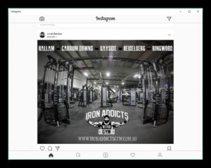 Instagram для компьютера лента фотографий