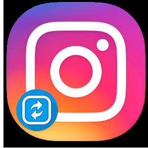 Репост видео в Instagram