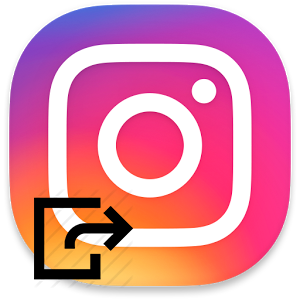 Выход из Instagram
