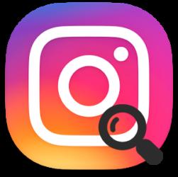 Instagram поиск
