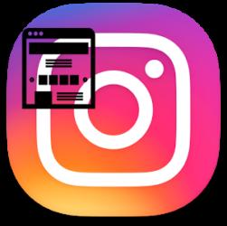 Landing page в Instagram