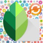 Как поменять фон в Snapseed