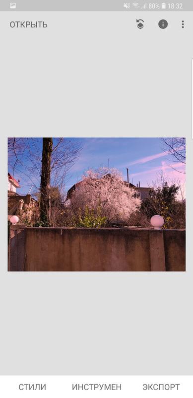 готовое фото розовое небо