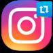 Репост записи с текстом в Instagram