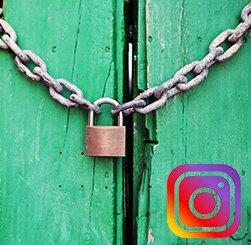 закрыть instagram