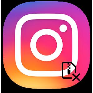 Как удалить фото с instagram