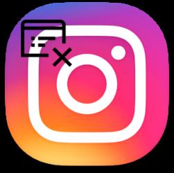 Как удалить страницу в instagram