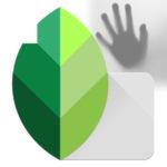 Как убрать тень в программе Snapseed